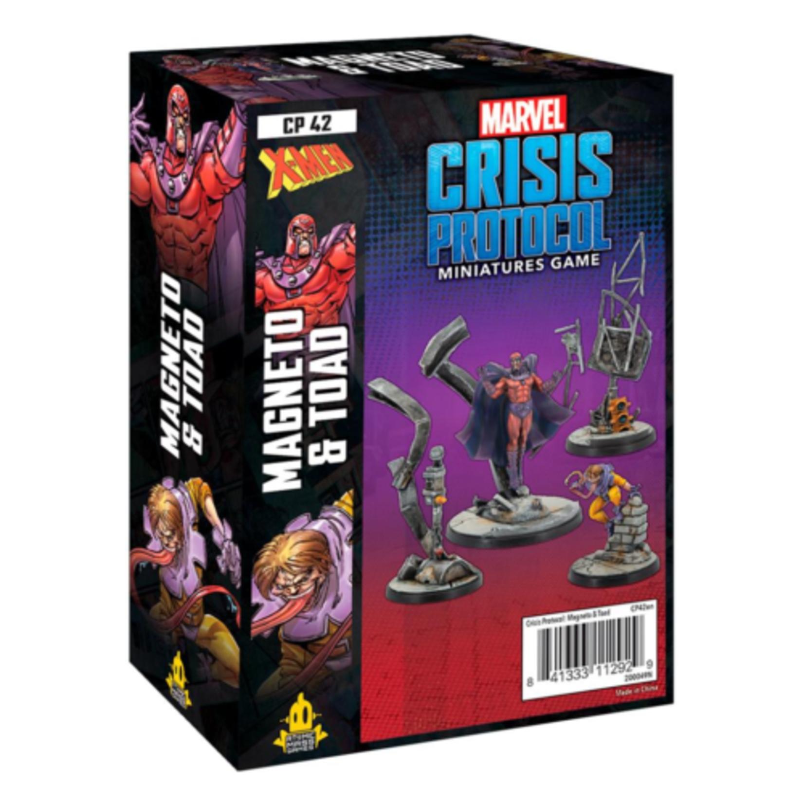 Marvel Crisis Protocol - Magneto & Toad