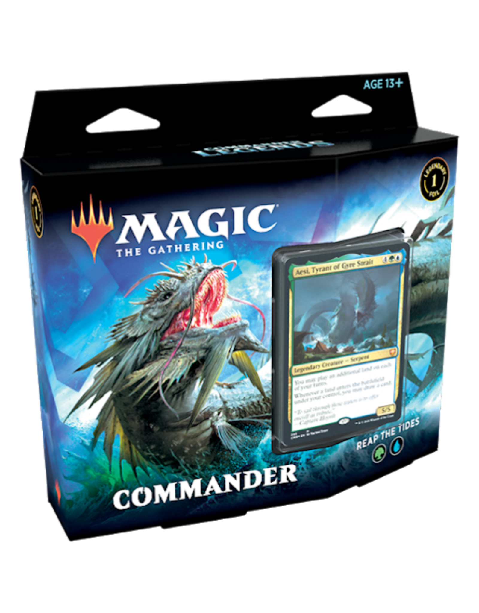 Wizards of the Coast Commander Legends Reap the Tides Commander Deck