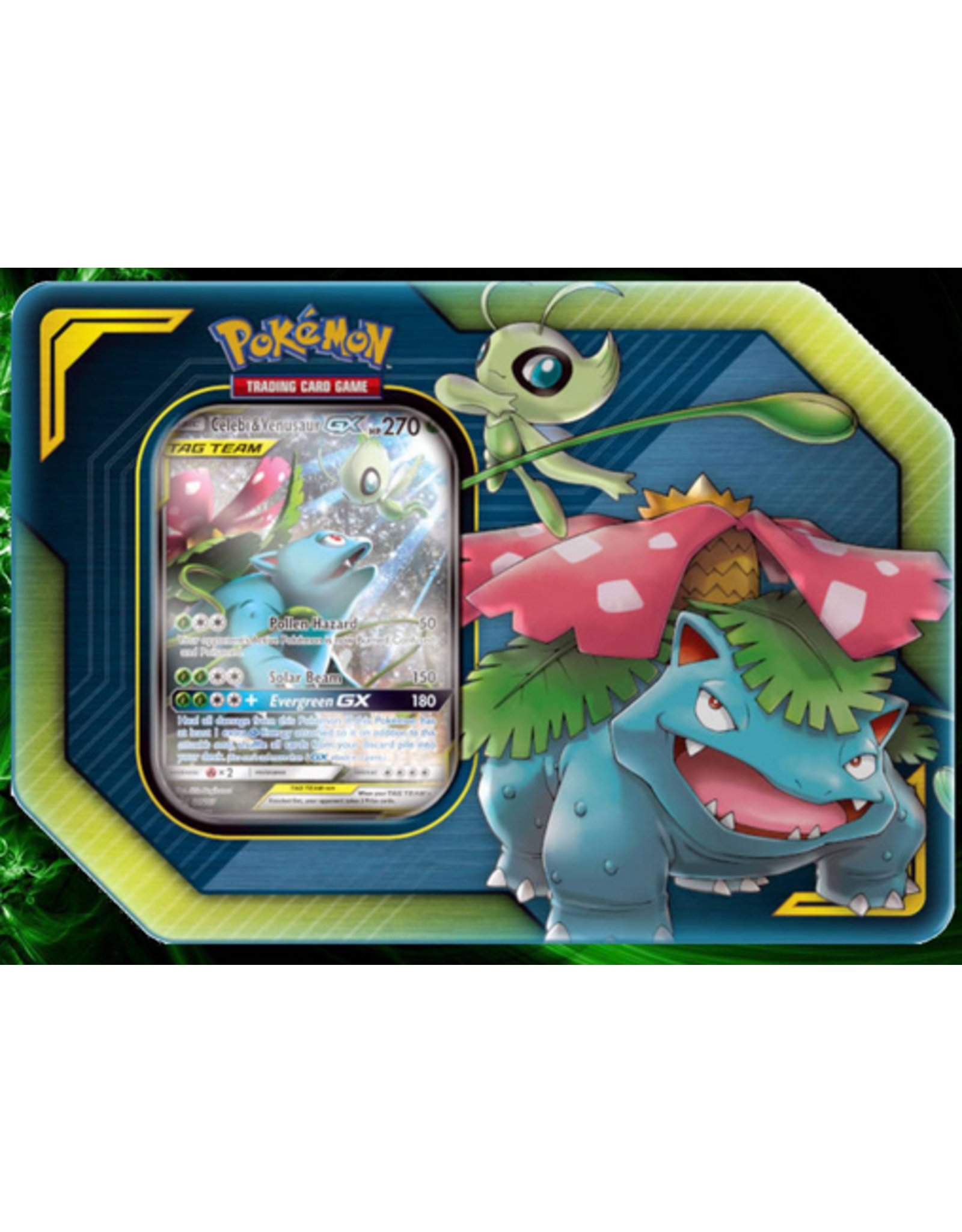 Pokémon Pokemon Tag Team Tin: Celebi & Venusaur
