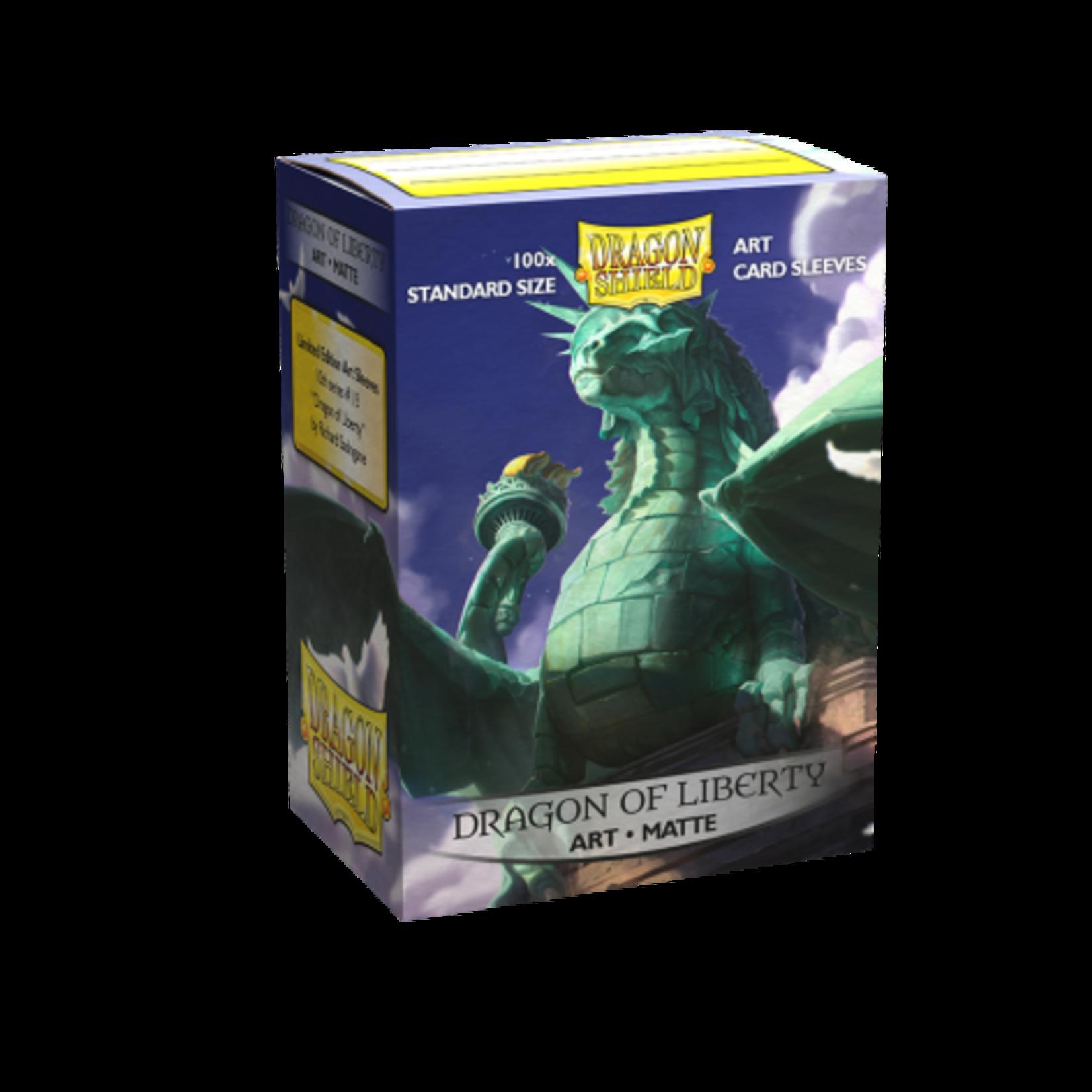 Dragon Shield Dragon Shield Matte Art Dragon of Liberty 100ct