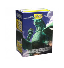 Dragon Shield Dragon Shield Matte Art Dragon of Liberty 100ct