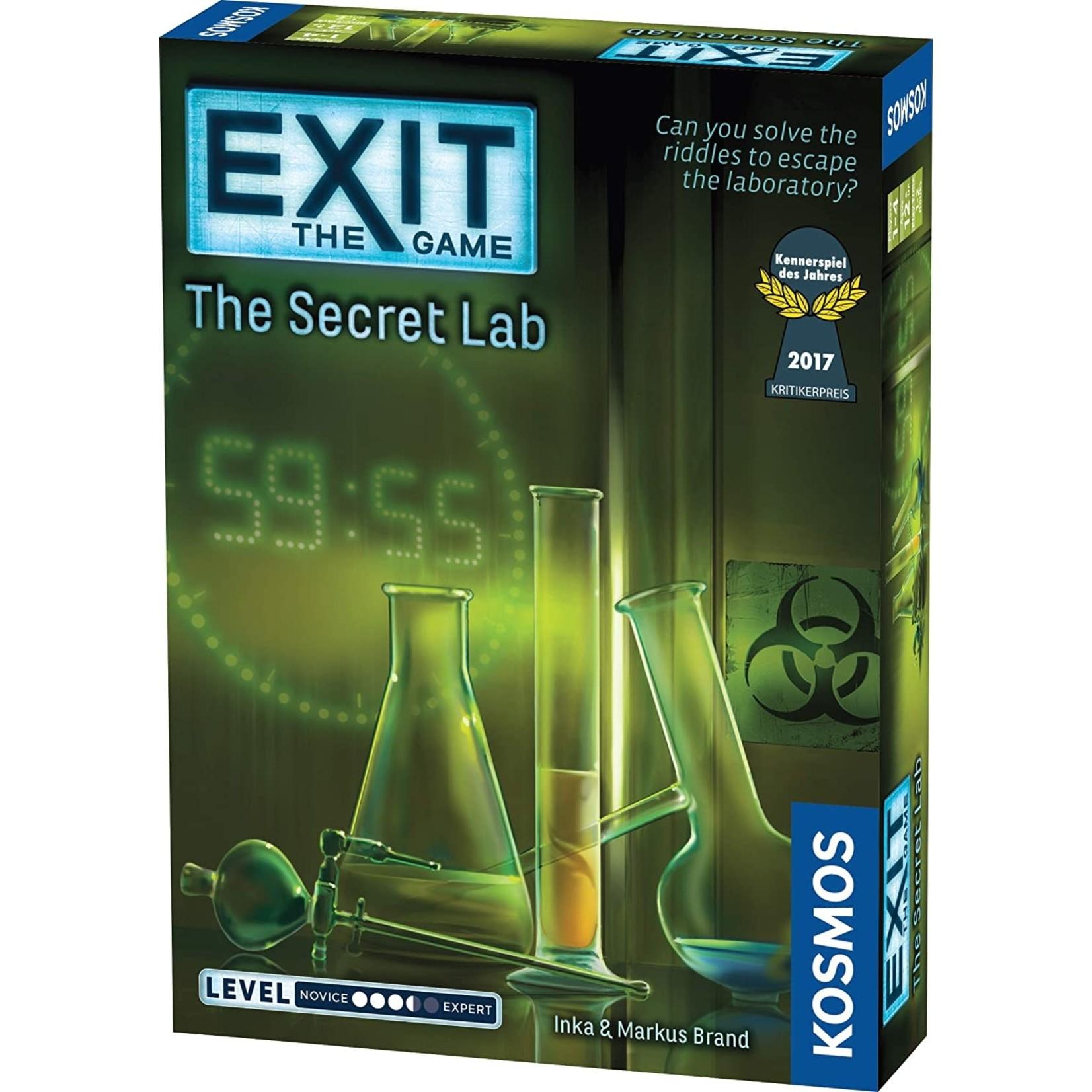 Exit: The Secret Lab Board Game