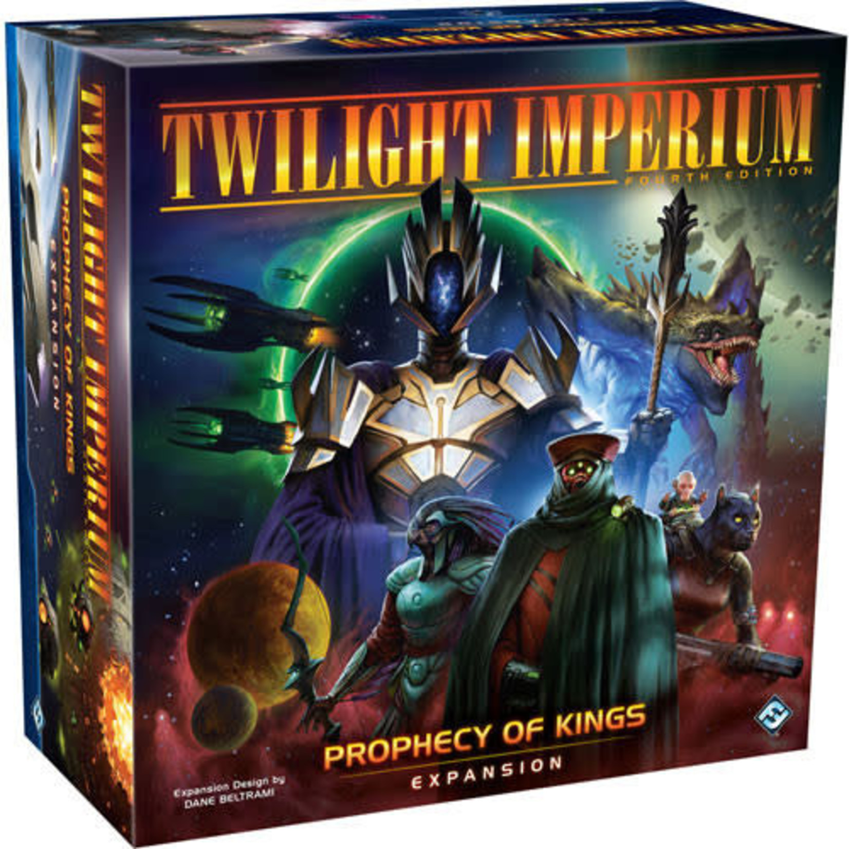 Twilight Imperium (Fourth Edition): Prophecy of Kings Board Game