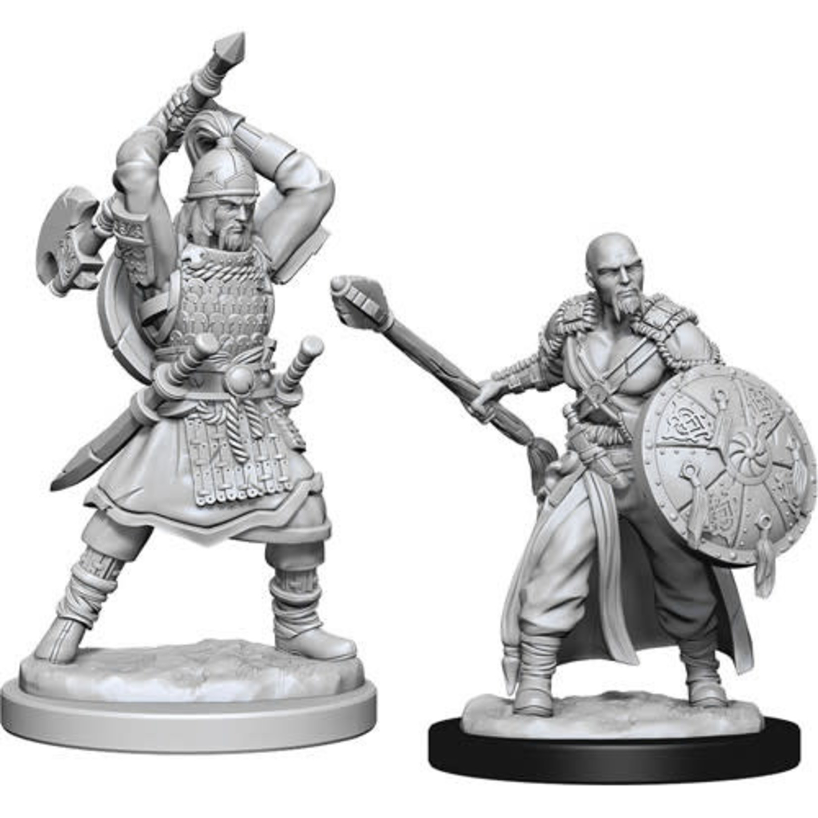 D&D Unpainted Minis: Human Barbarian Male (Wave 13)