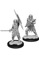D&D Unpainted Minis: Human Fighter Male (Wave 13)