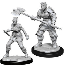 D&D Unpainted Minis: Orc Barbarian Female (Wave 13)