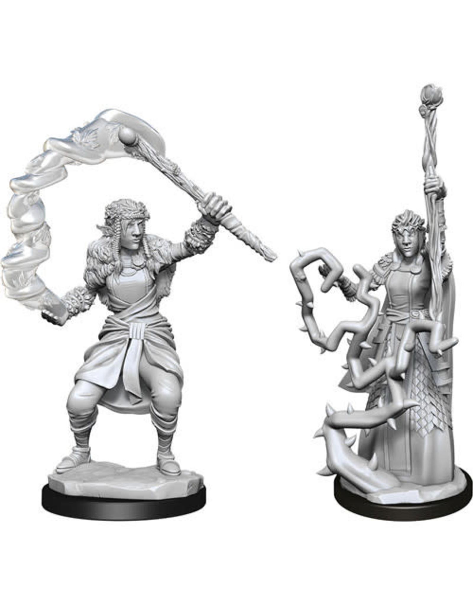D&D Unpainted Minis: Firbolg Druid Female (Wave 13)