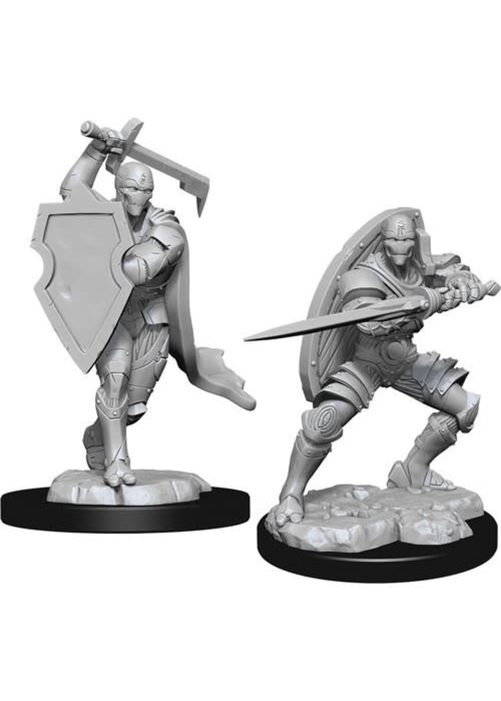 D&D Unpainted Minis: Warforged Fighter Male (Wave 13)