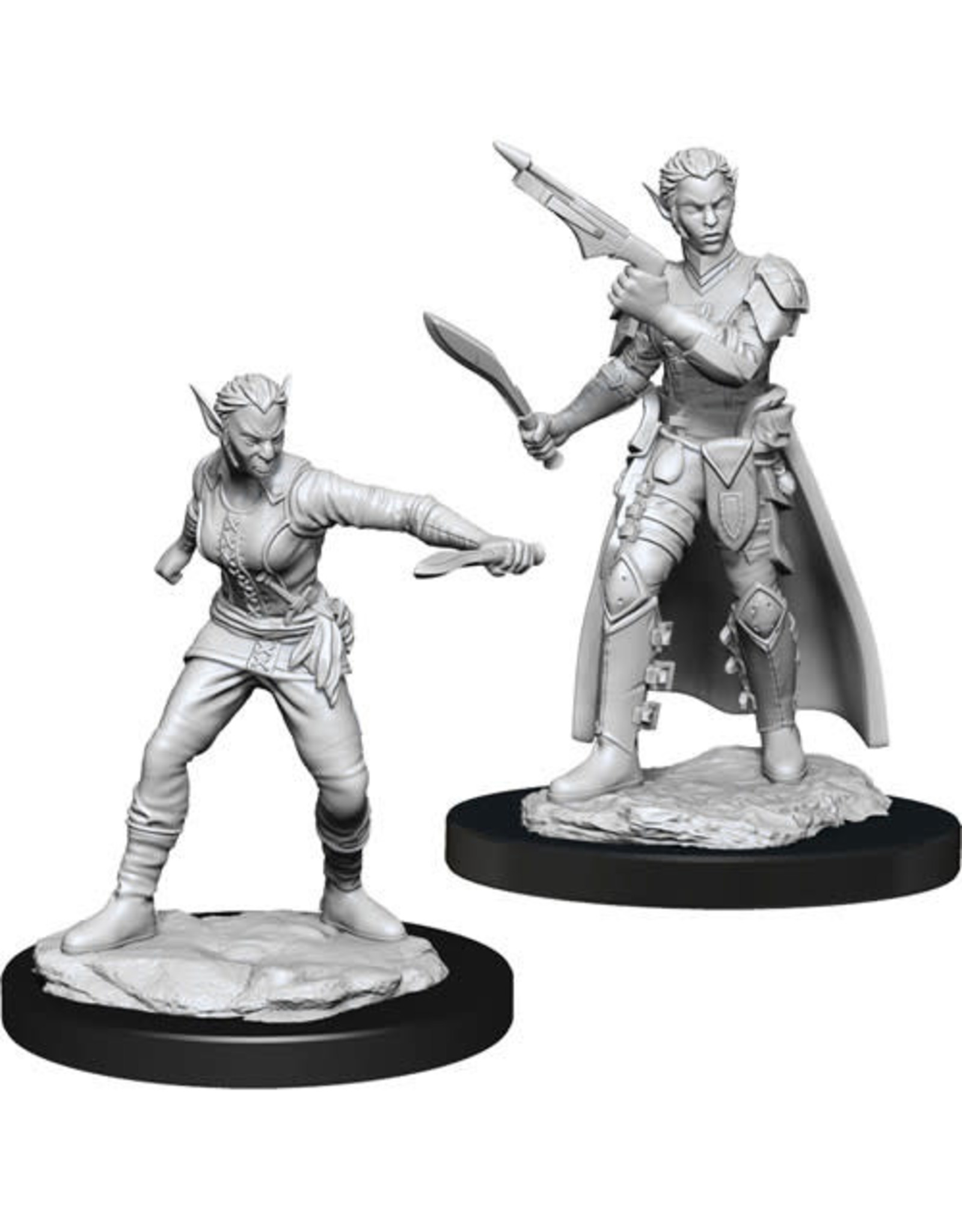 D&D Unpainted Minis: Shifter Rogue Female (Wave 13)