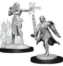 D&D Unpainted Minis: Multiclass Warlock + Sorcerer Female (Wave 13)