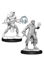 D&D Unpainted Minis: Multiclass Wizard + Fighter Male (Wave 13)
