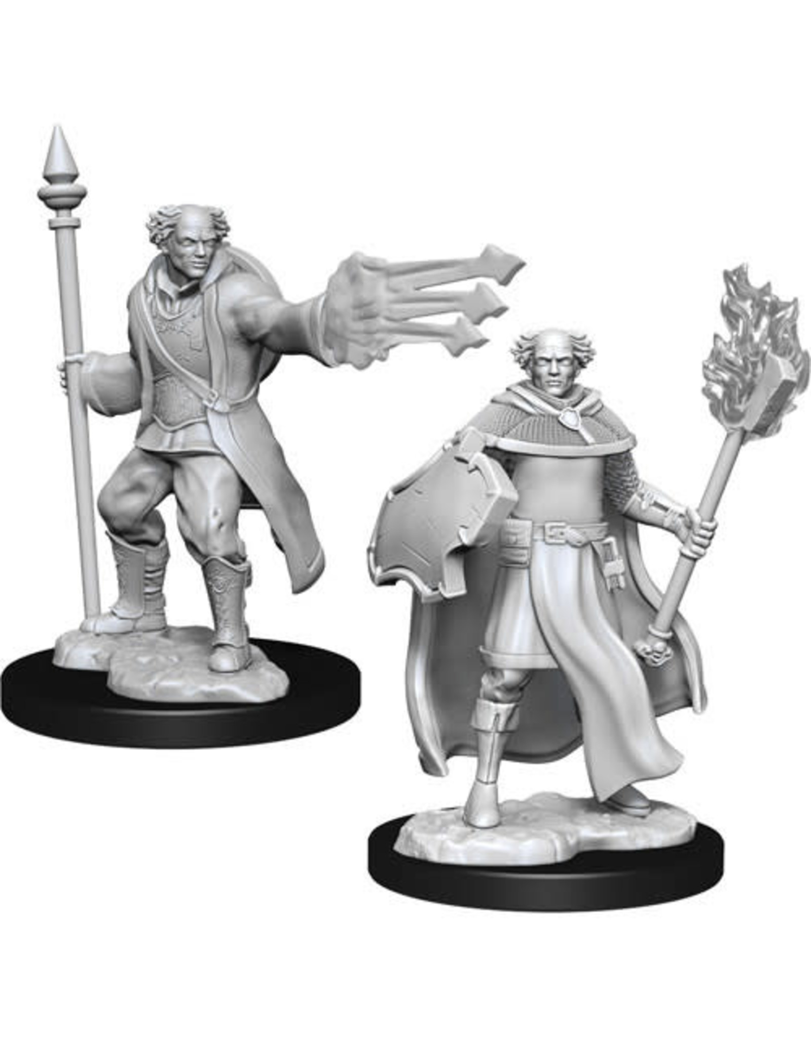 D&D Unpainted Minis: Multiclass Cleric + Wizard Male (Wave 13)