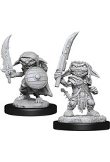 D&D Unpainted Minis: Pathfinder Goblin Fighter Male (Wave 13)