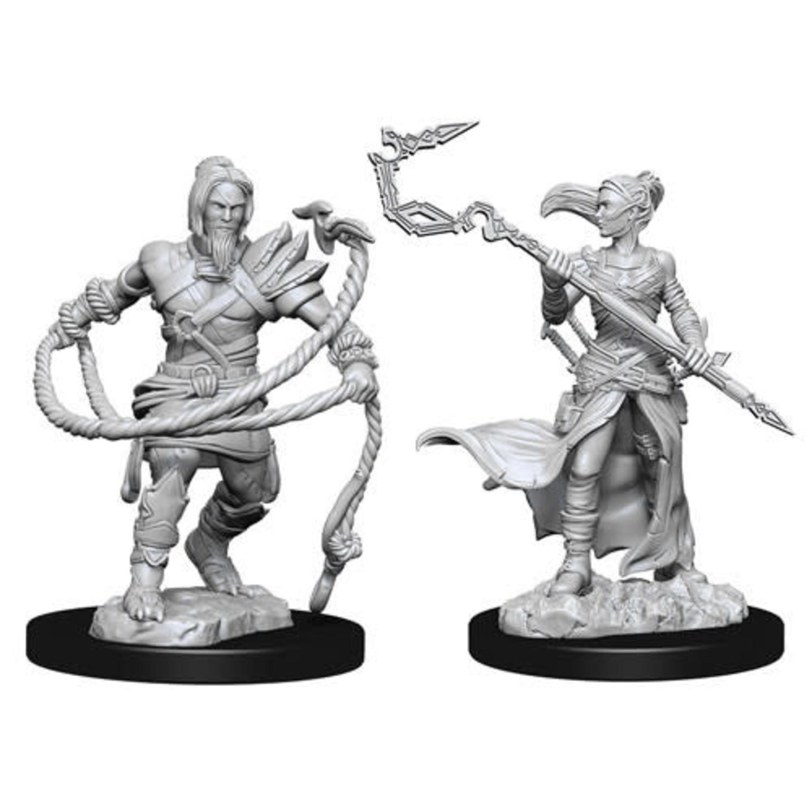 D&D Unpainted Minis: Stoneforge Mystic & Kor Hookermaster (Wave 13)