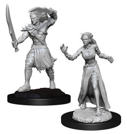 D&D Unpainted Minis: Vampire Lacerator & Vampire Hexmage (Wave 13)