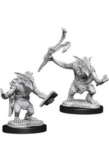 D&D Unpainted Minis: Goblin Guide & Goblin Bushwhacker (Wave 13)