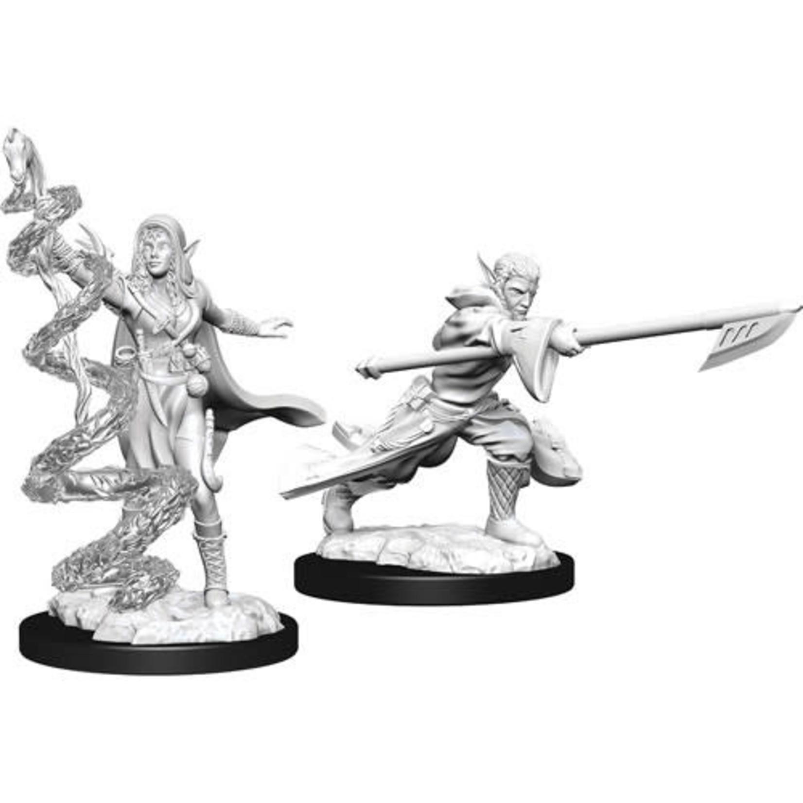 D&D Unpainted Minis: Joraga Warcaller & Joraga Treespeaker (Wave 13)