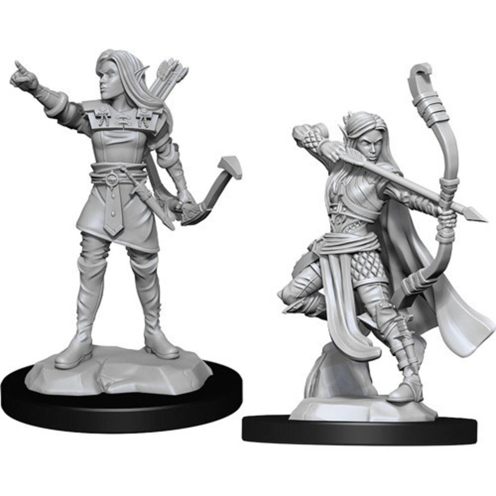 D&D Unpainted Minis: Elf Ranger Female (Wave 13)