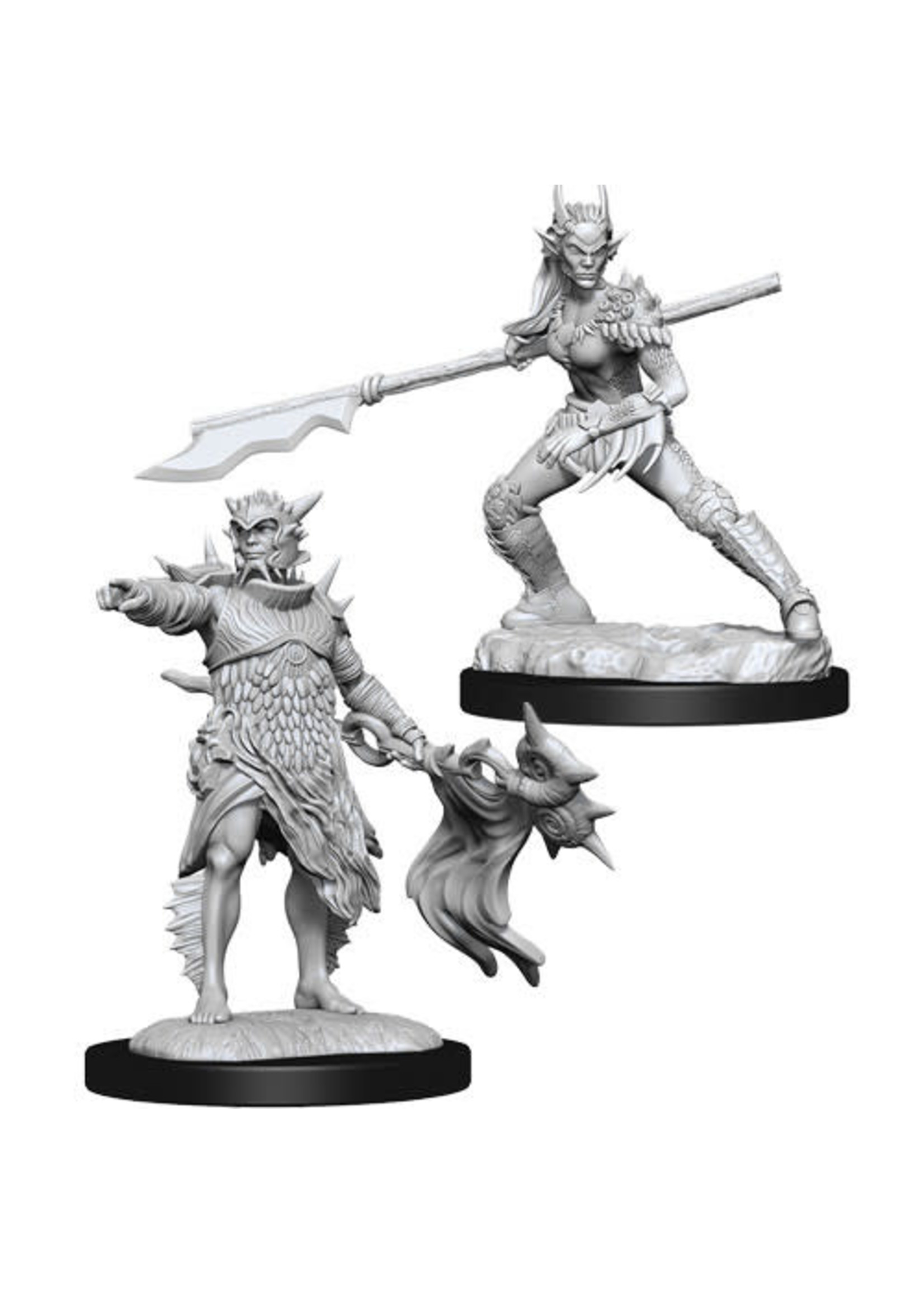 D&D Unpainted Minis: Coralheim Commander & Halimar Wavewatch (Wave 13)