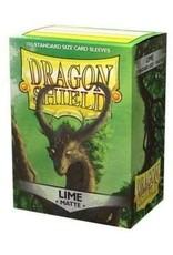 Dragon Shield Dragon Shield Matte Lime 100ct