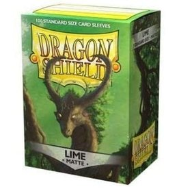 Dragon Shield Dragon Shield Matte Lime 100ct