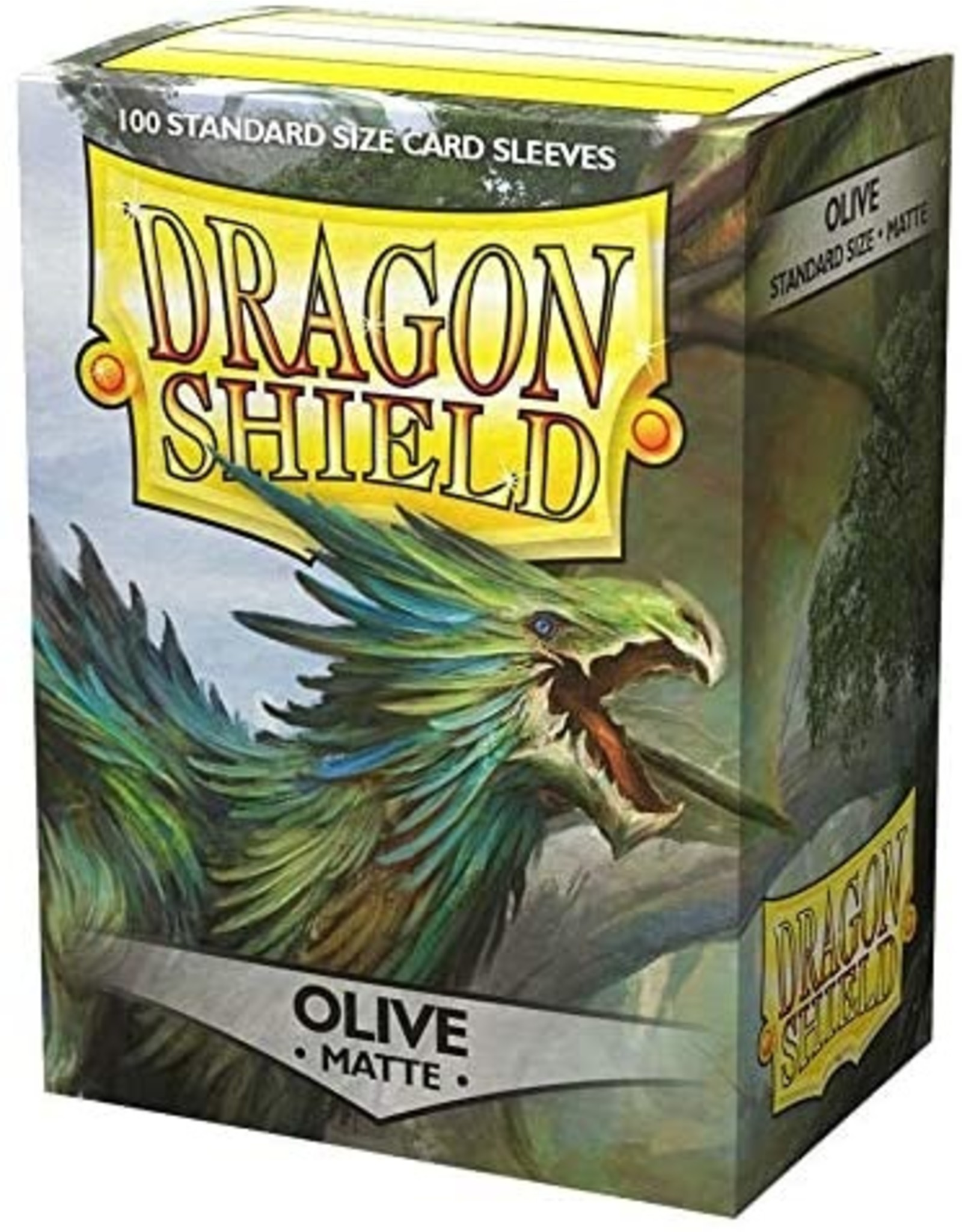 Dragon Shield Dragon Shield Matte Olive 100ct