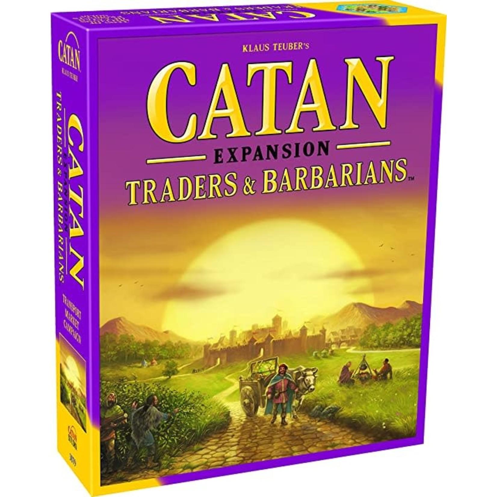 Catan Traders & Barbarians Expansion Board Game