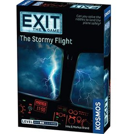Exit: The Stormy Flight Board Game