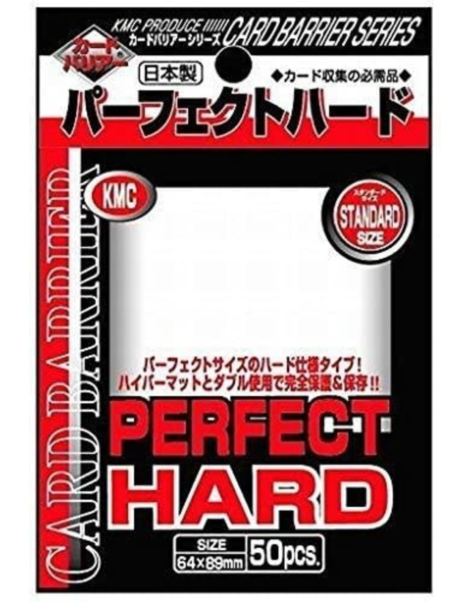 KMC Perfect Fit Hard Sleeves 50ct