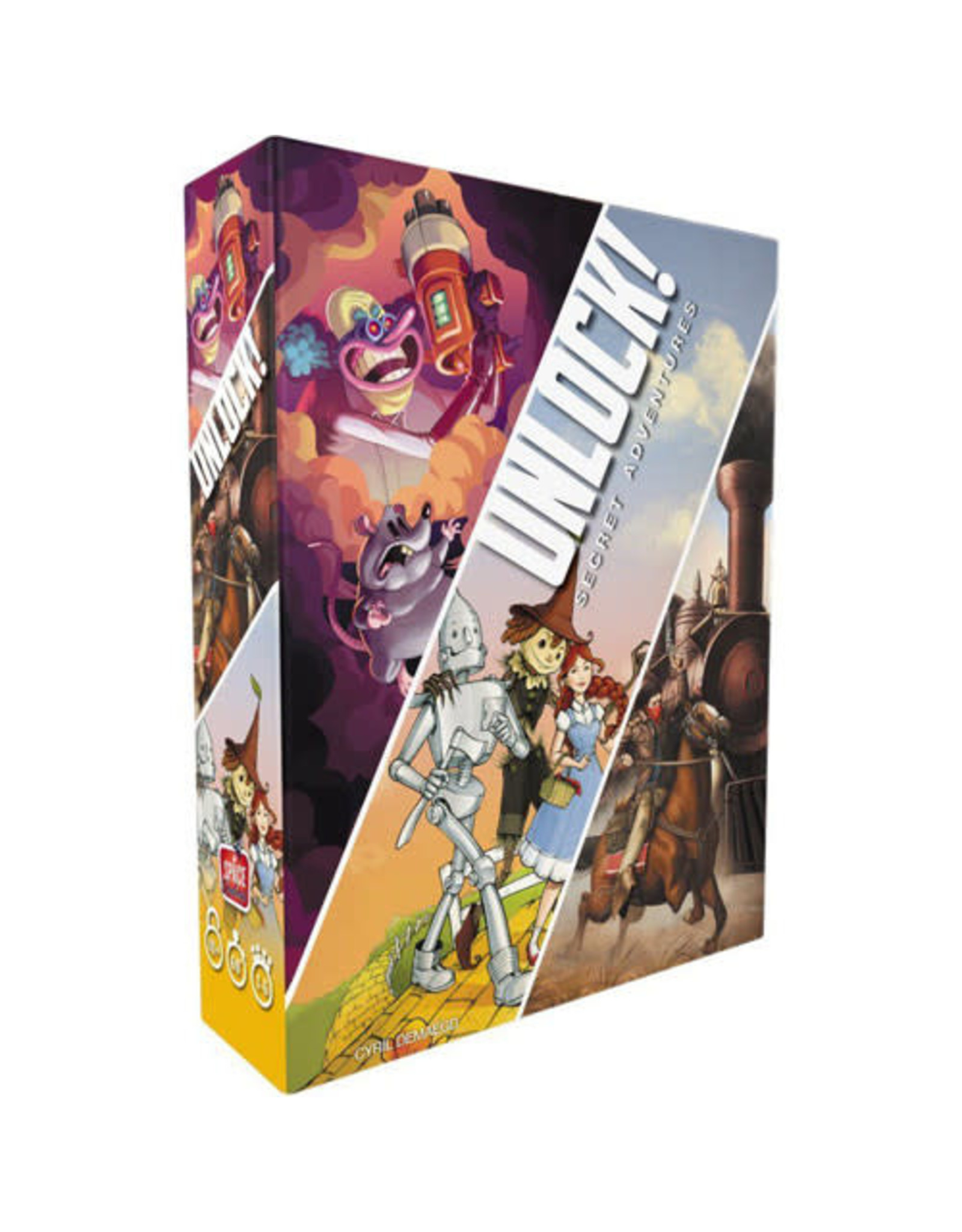 Unlock! Secret Adventures Board Game