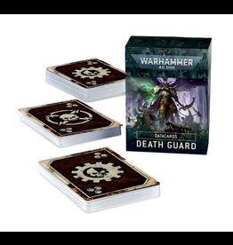 Death Guard 9th Data Cards (40K) - Preorder