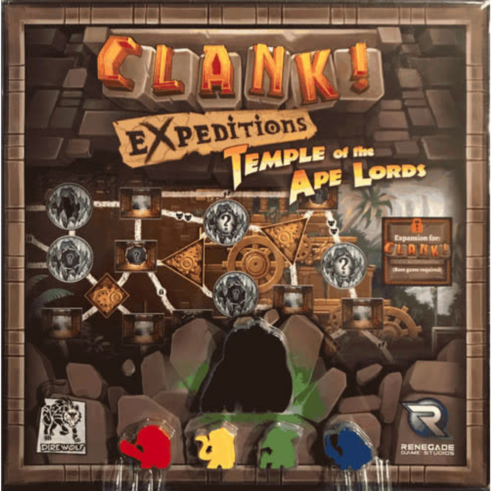 Clank! Expeditions: Temple of the Ape Lords Expansion