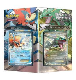Pokémon Pokemon Battle Arena: Keldeo vs Rayquaza