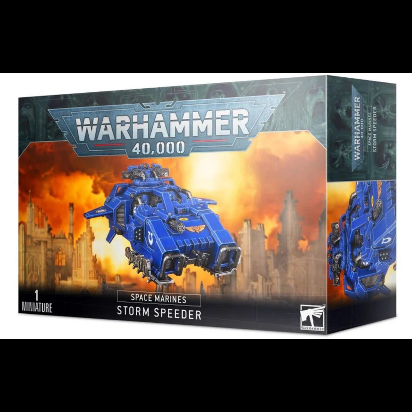 Games Workshop Space Marine Storm Speeder (40K)