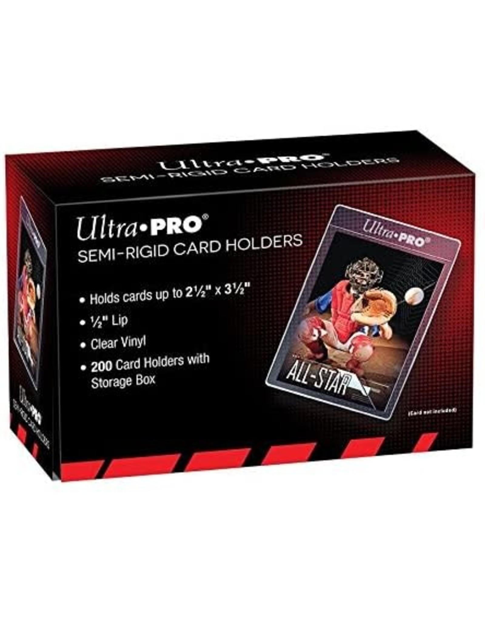 Ultra Pro Ultra Pro Semi-Rigid Card Holders (Card Savers) 200ct