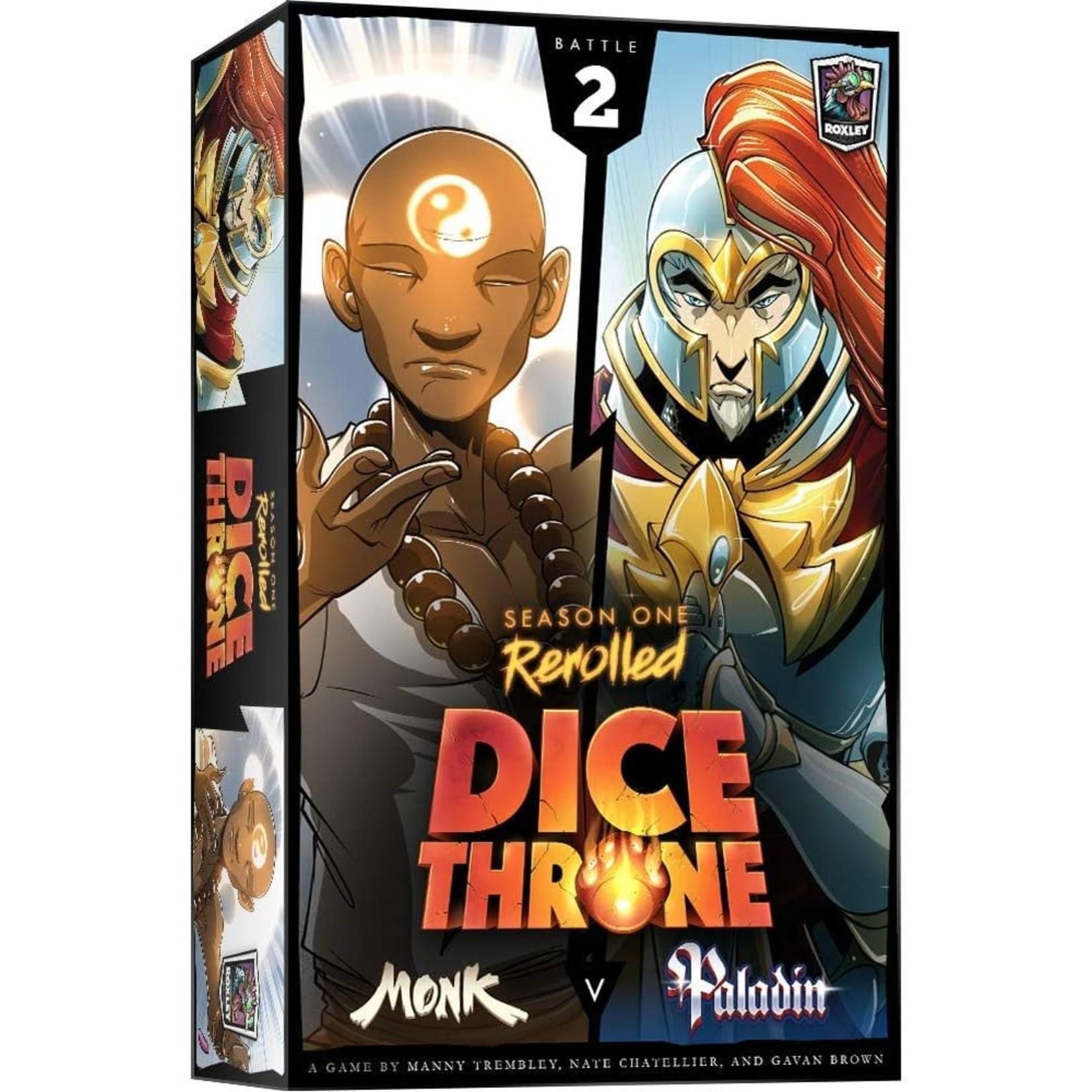 Dice Throne Season One: Monk Vs Paladin