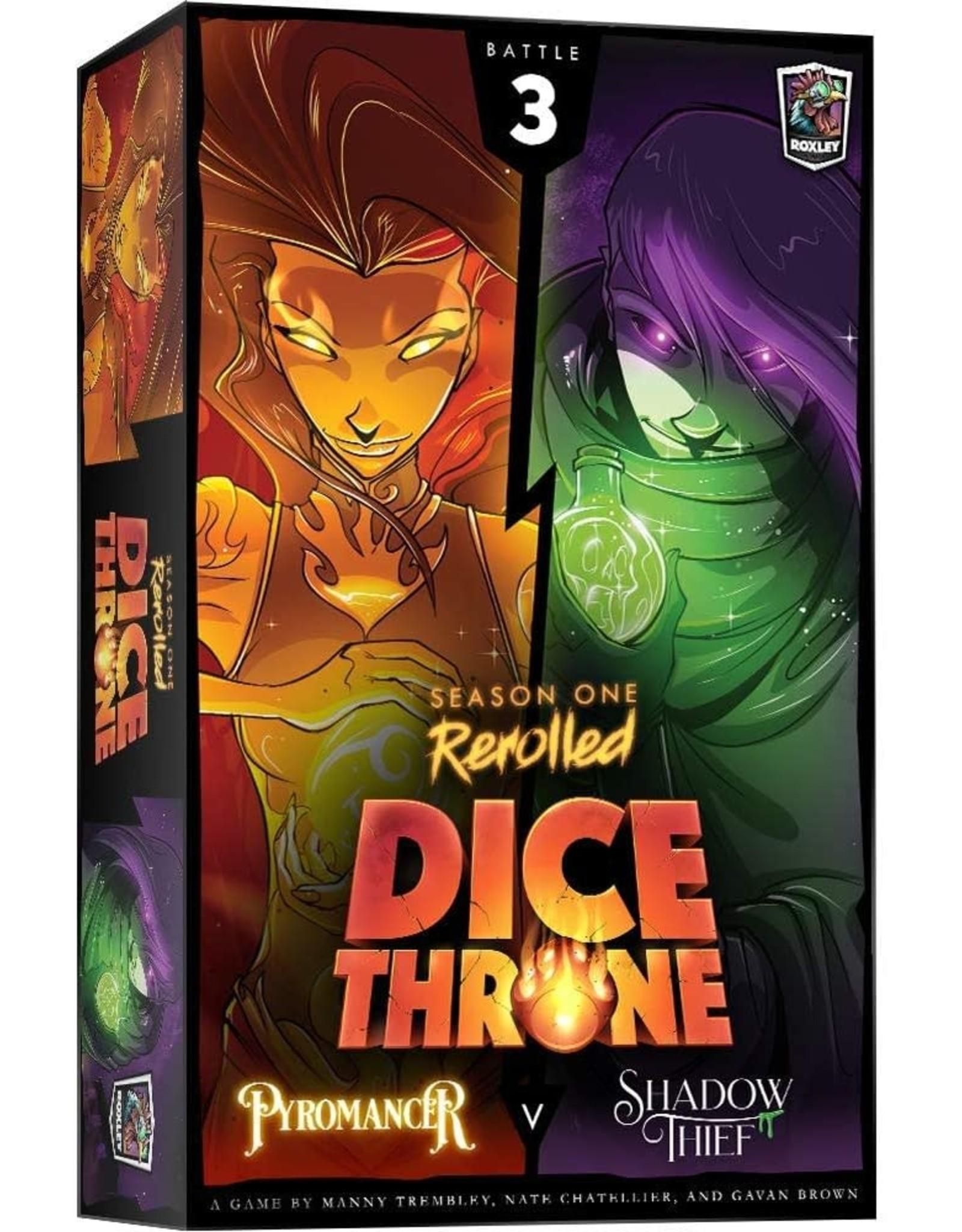 Dice Throne Season One: Pyromancer Vs Shadow Thief