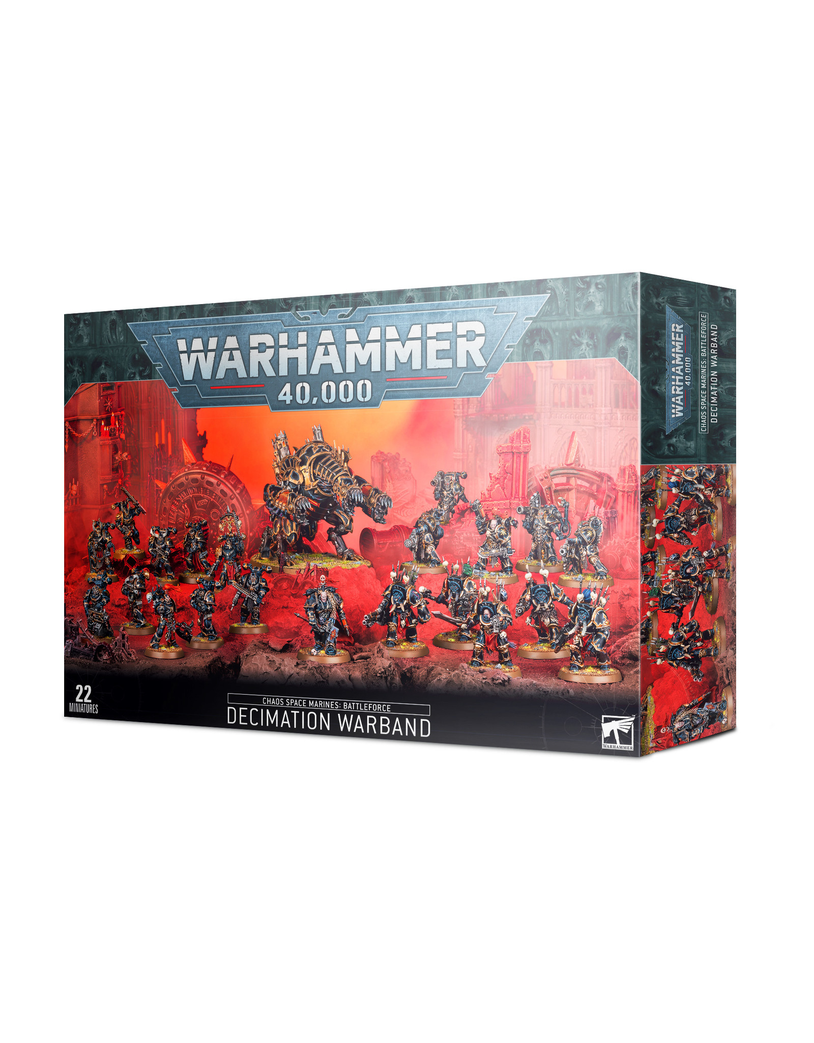 Chaos Space Marines Decimation Warband (40K)