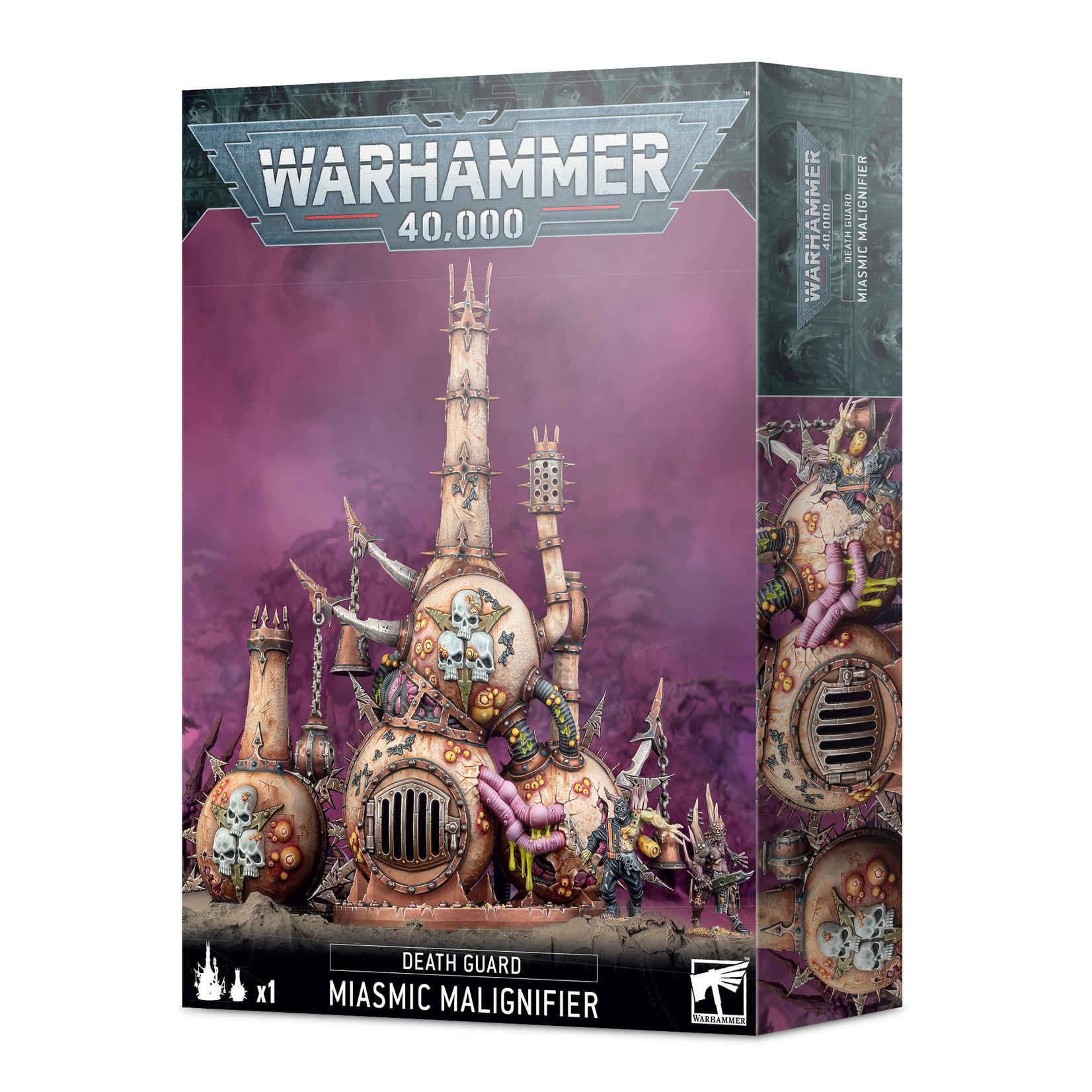 Death Guard Miasmic Malignifier (40K)