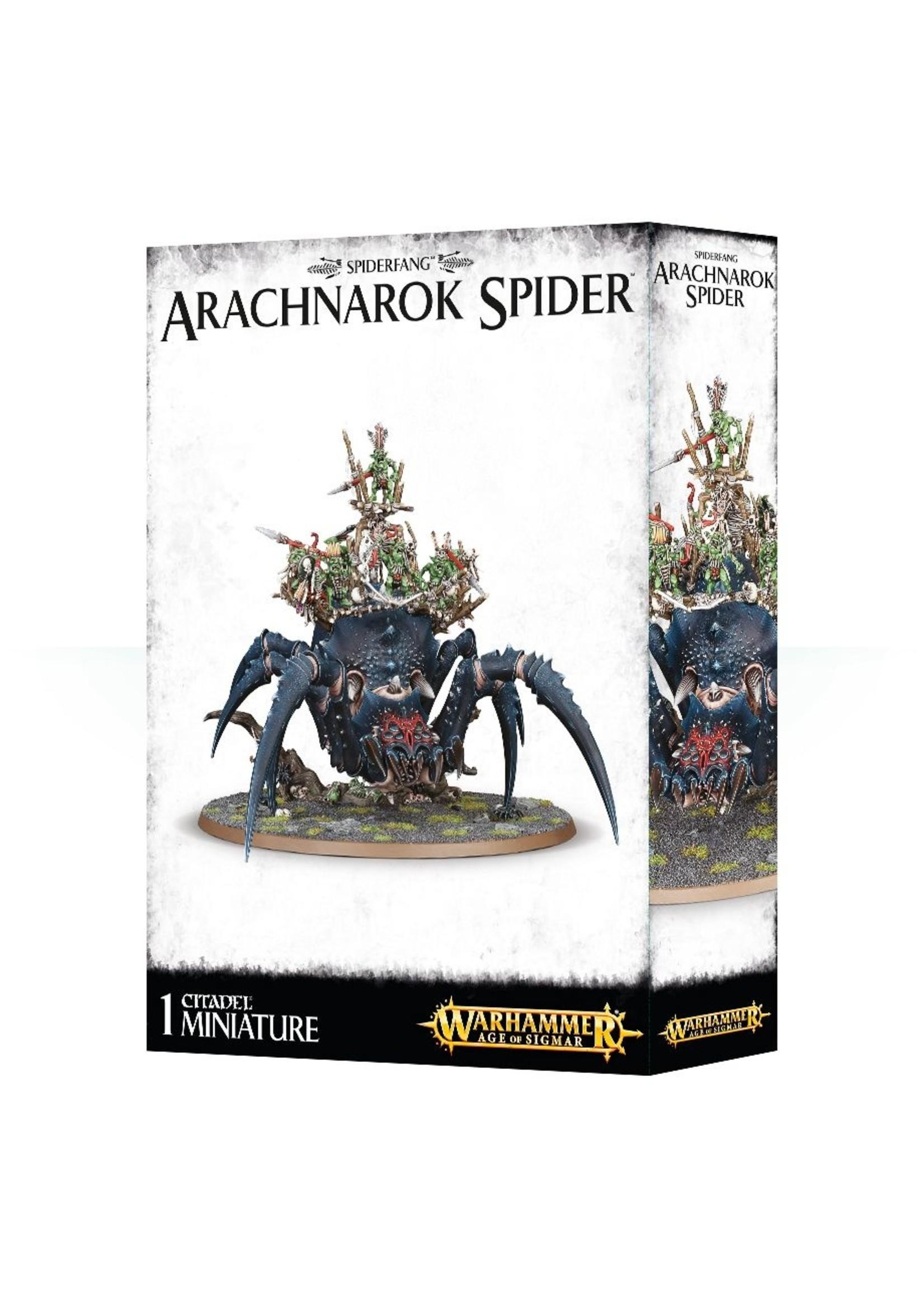 Arachnarok Spider (AOS)