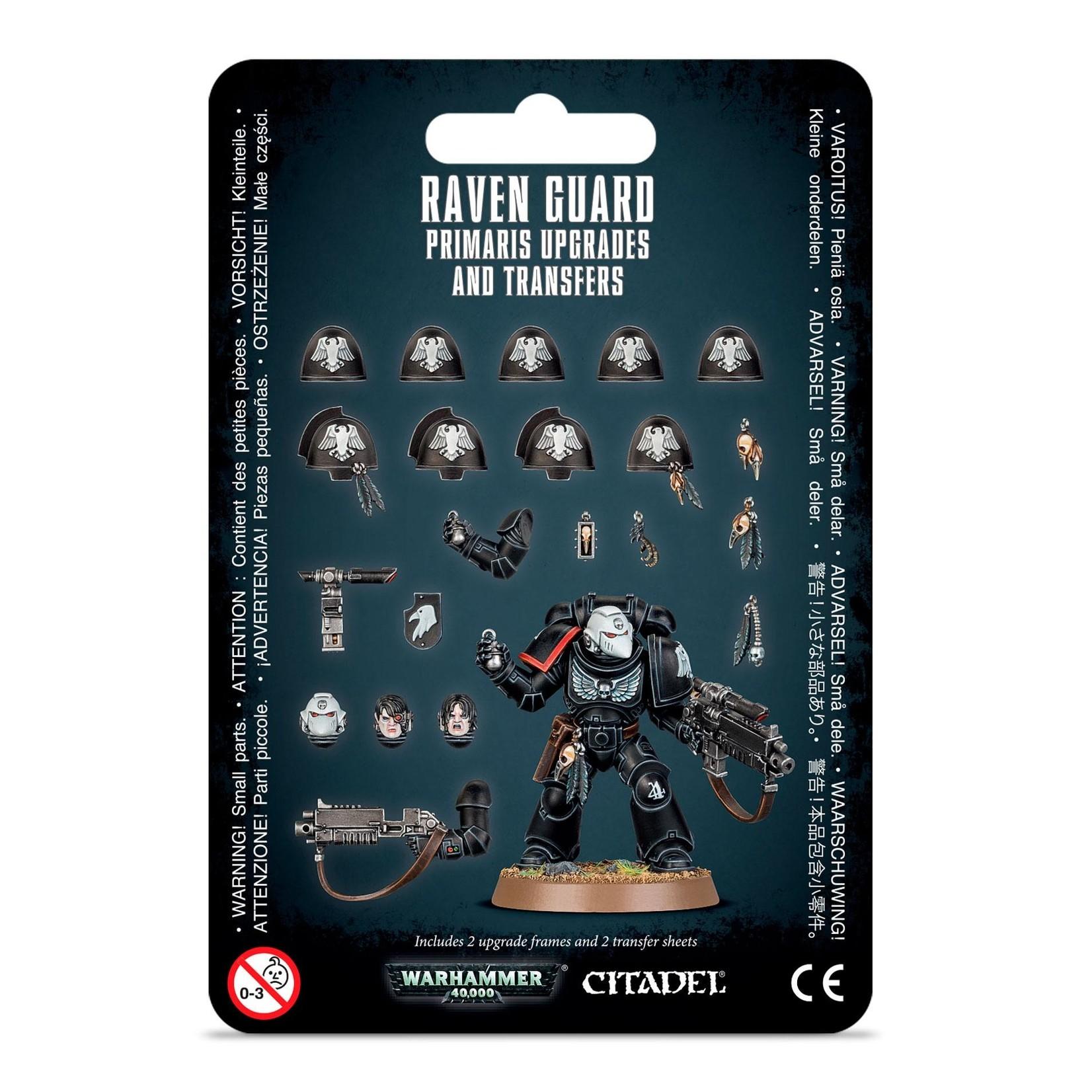 Raven Guard Primaris Upgrades (40K)