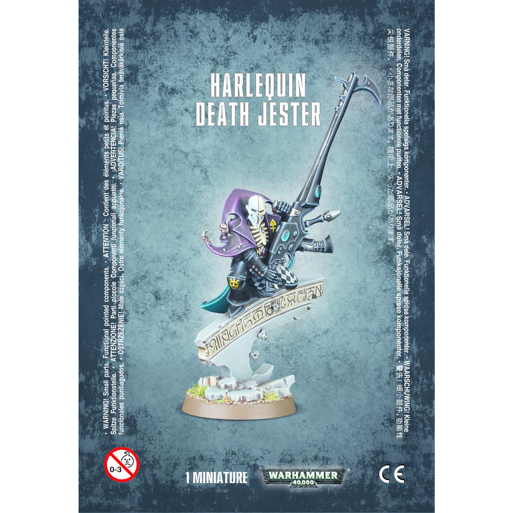 Harlequin Death Jester (40K)
