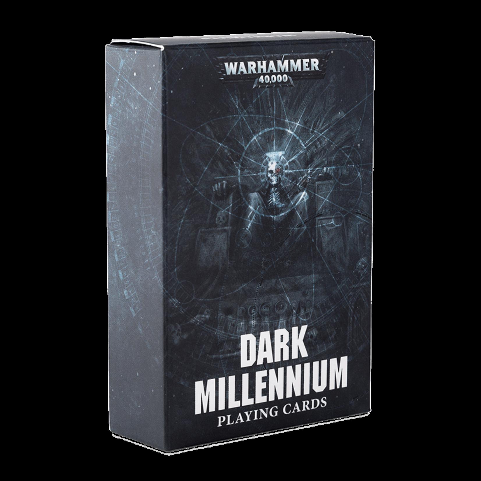 Dark Millennium Playing Cards (40K)