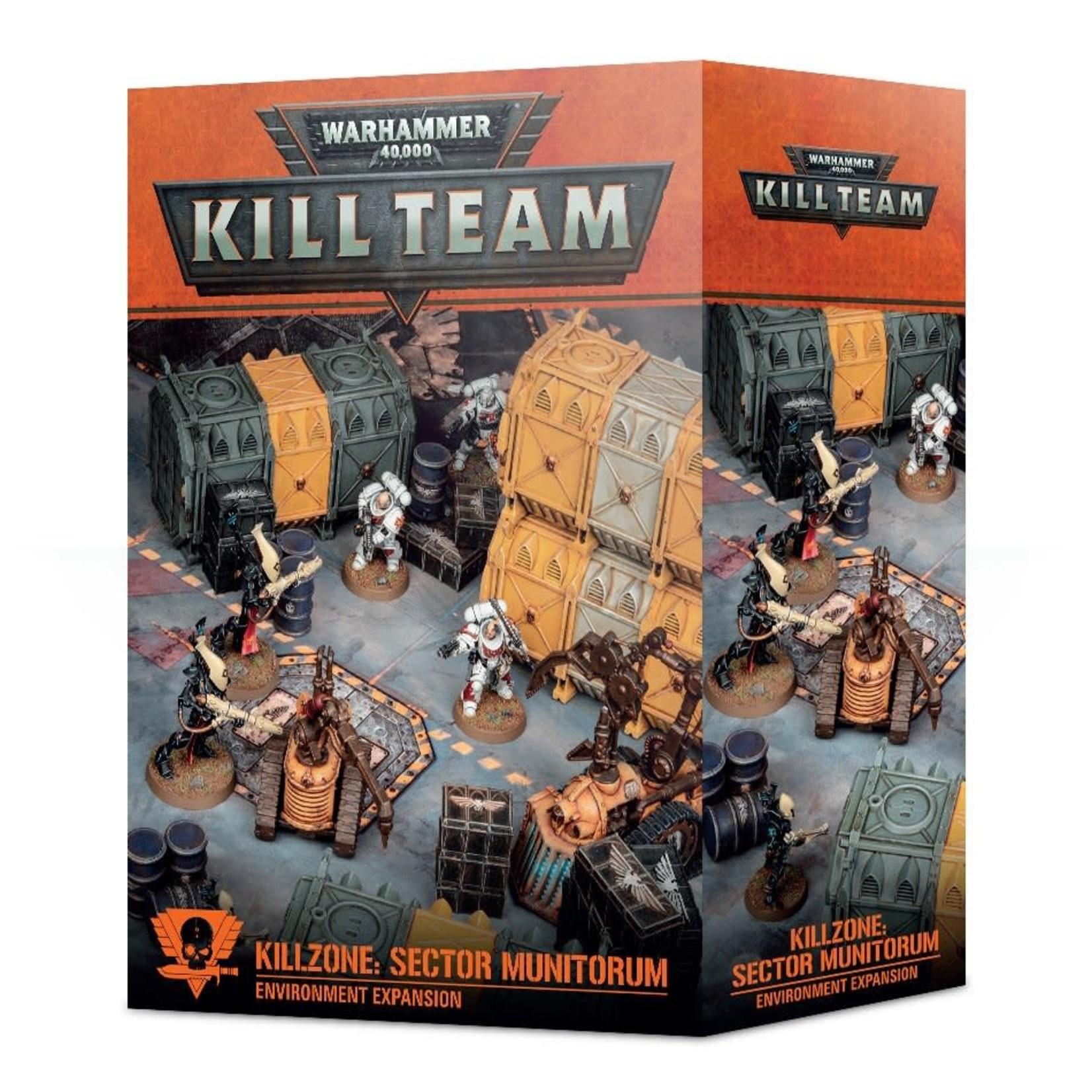 Kill Zone:  Munitorum Hub (40K)
