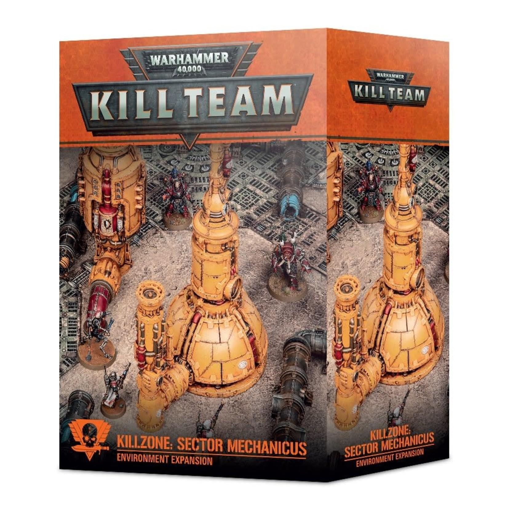 Kill Zone:  Sector Mechanicus (40K)