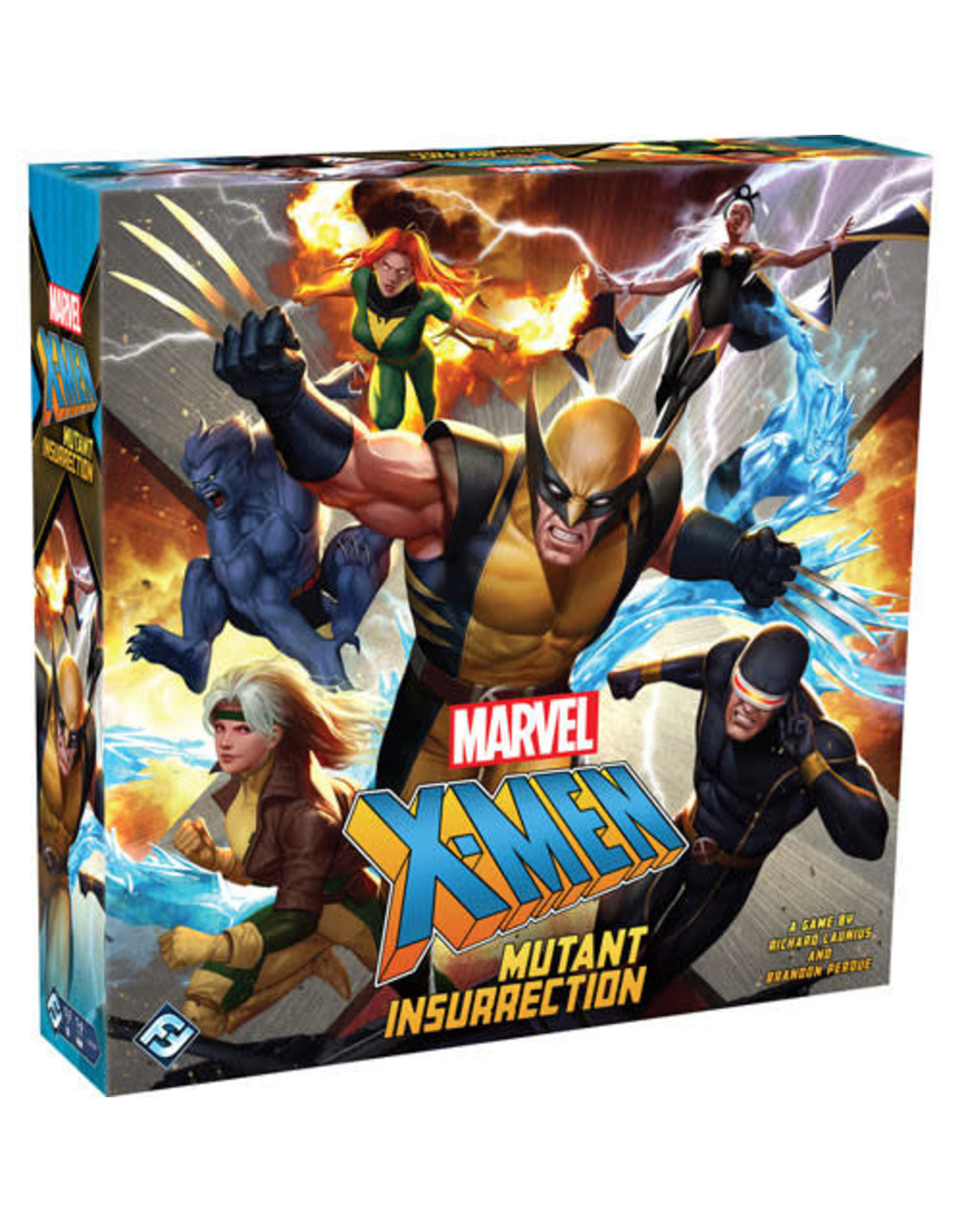 Marvel X-Men Mutant Insurrection Board Game