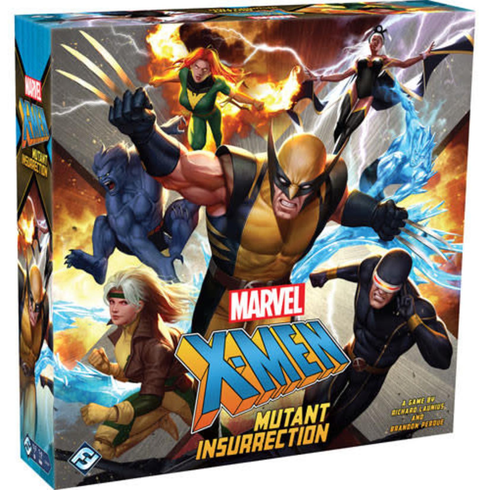 Marvel X-Men Mutant Insurrection Board Game