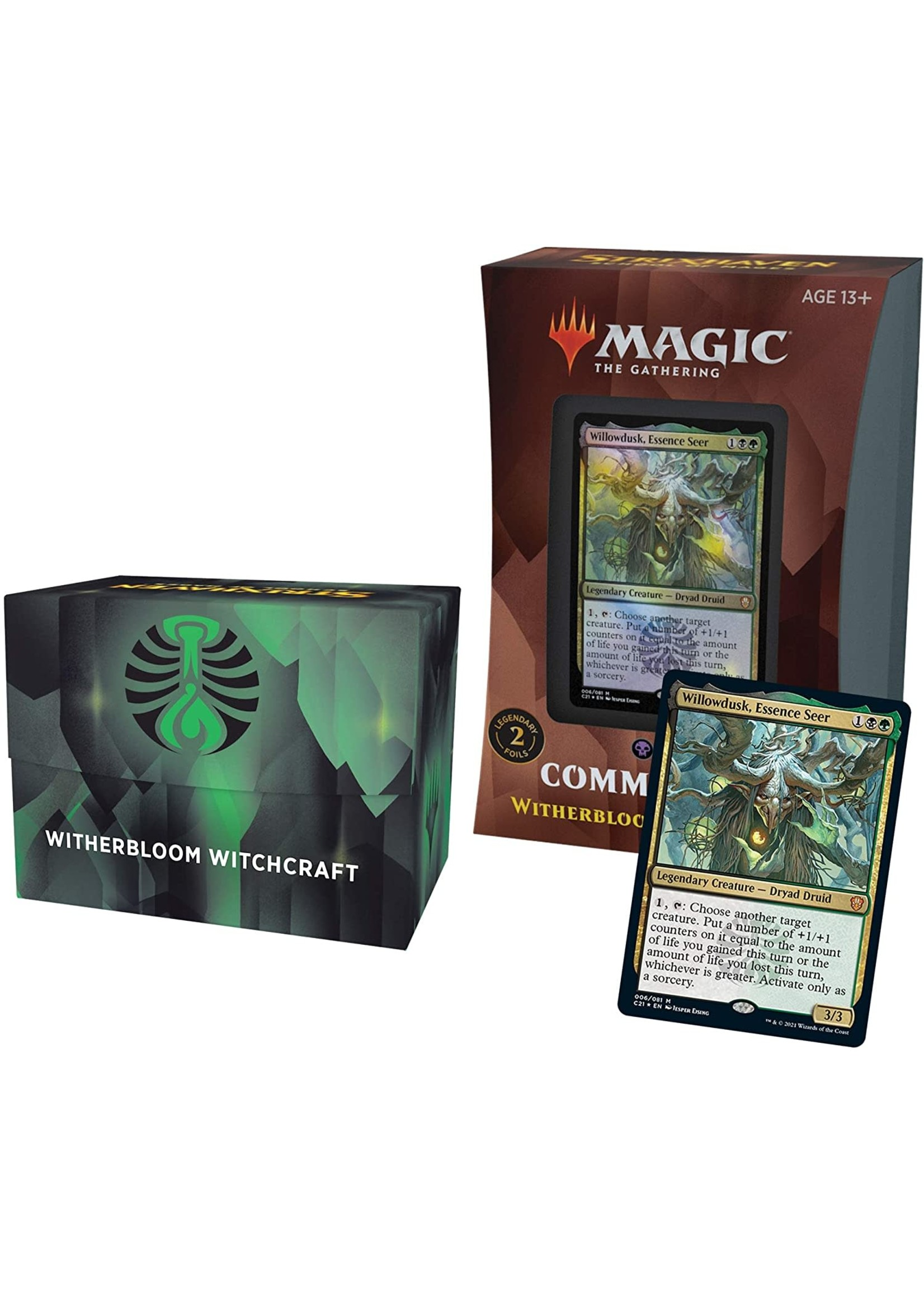 Wizards of the Coast Strixhaven Commander Deck Witherbloom Witchcraft