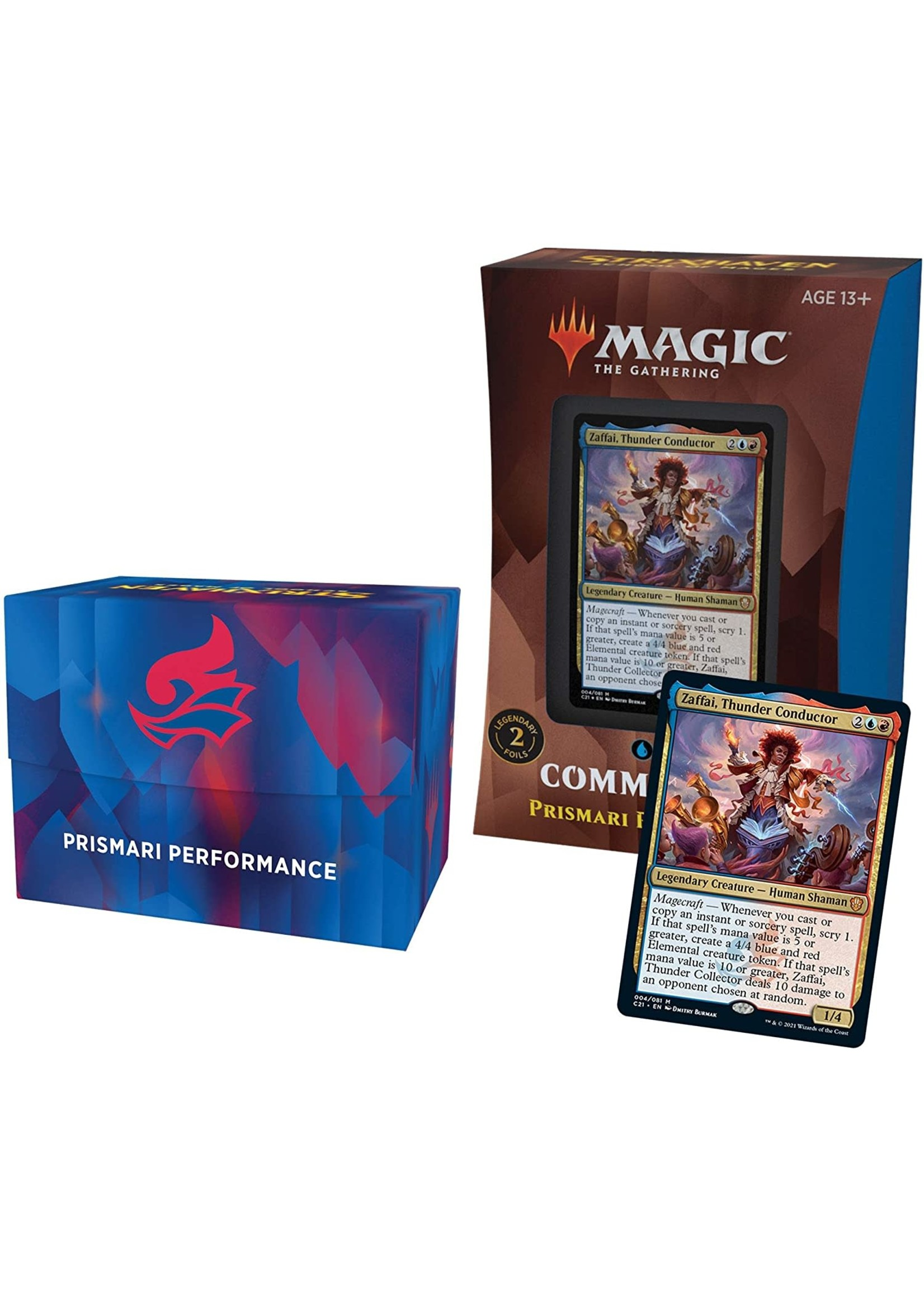 Wizards of the Coast Strixhaven Commander Deck Prismari Performance