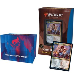 Wizards of the Coast Strixhaven Commander Deck Prismari Performance